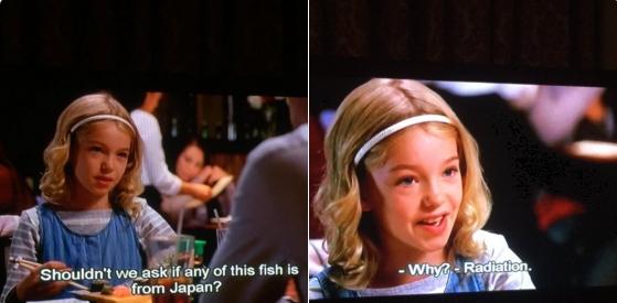 アメリカのドラマのセリフ「これ日本産の魚?」「放射能は?」→「新鮮?」の訳に変えて批判殺到!