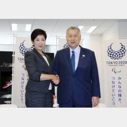 小池百合子都知事と森喜朗東京五輪組織委員会長が和解!?「カジノ」推進で利害が一致か!