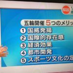 【戦前回帰】NHK「おはよう日本」の解説に仰天!「オリンピックの最大のメリットは国威発揚!」