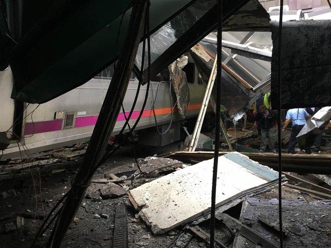 アメリカ・ニュージャージー州で大規模な列車事故が発生!1人死亡、114人が負傷!日本人もケガ!