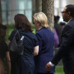 ヒラリー・クリントン米大統領候補が9.11式典中に突然倒れ、病院に搬送!重病説は本当だった!?