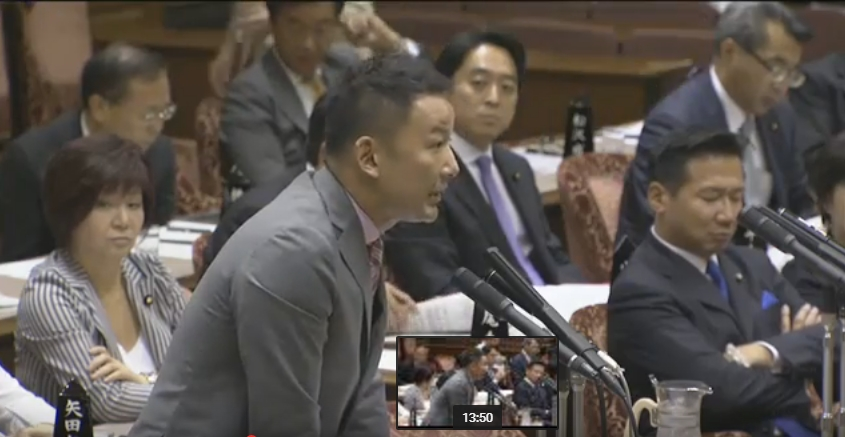 山本太郎議員が安倍総理と福島の小児甲状腺がんの件で対決!「患者数をご存知ですか?」「通告が無いものは答えられない!」