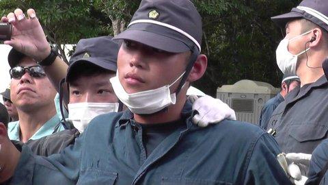 【これはあかん】沖縄・高江ヘリパッド建設現場の警察の差別発言が話題に!「ボケ、土人が!」「黙れシナ人!」