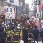 福岡市早良区の西新商店街で解体中のビルが倒壊し一時騒然!ケガ人はいないものの危機一髪だった人も…!