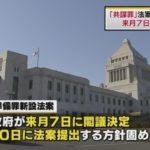 共謀罪(テロ等準備罪)が3月7日に閣議決定する見通し!安倍政権(日本会議カルト)に反対する国民がテロリスト認定される世界へ!