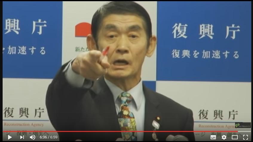 【興味深い】外国人ジャーナリストが今村復興大臣を追及した記者(西中氏)を評価!「彼は本来のジャーナリストの仕事をした」