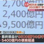 【東証二部転落確実】東芝が監査法人の承認なしの異例の業績発表!最終損益は9500億円の赤字、債務超過は5400億円に!