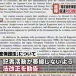 国連特別報告者が日本政府による国内メディアへの圧力を指摘!秘密保護法の一部見直しを求める勧告!→安倍政権が猛反発!