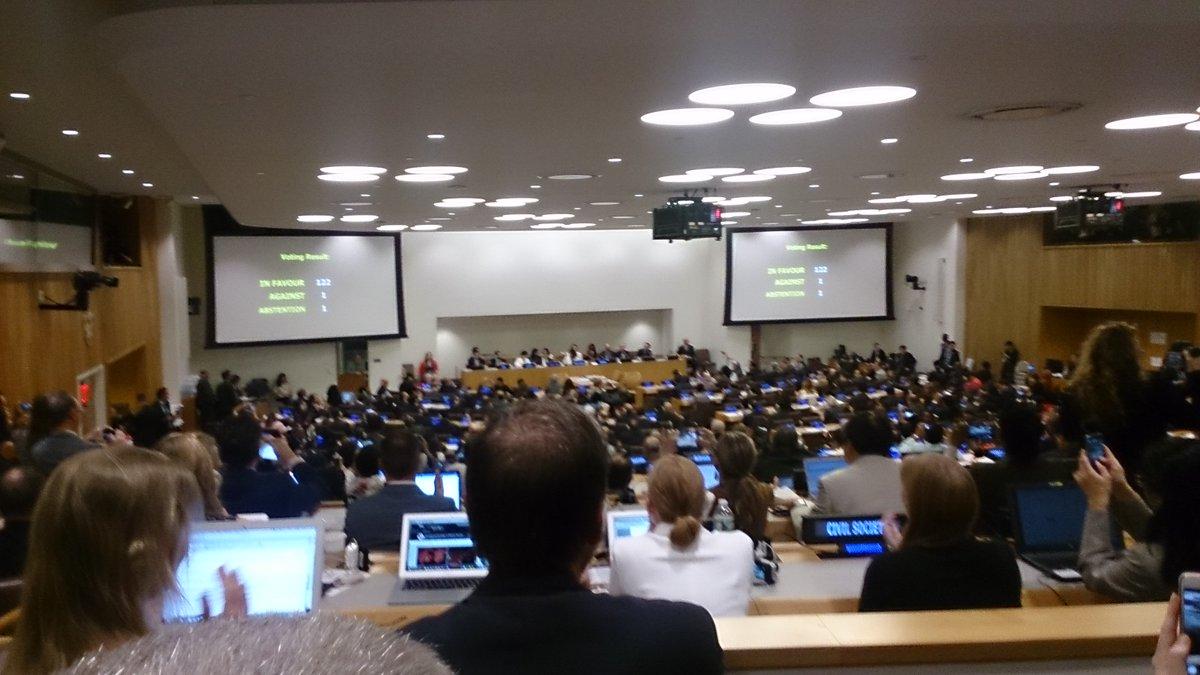 【画期的…でも】「核兵器禁止条約」が国連加盟国の圧倒的多数で採択されるも、唯一の被爆国である日本の反対に世界から批判が相次ぐ!