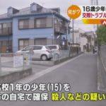 【またも…】埼玉県草加市旭町で男女の高校生が刺され、西山康介さん(16)が死亡!高校1年の少年を殺人容疑で逮捕!恋愛に関するトラブルか