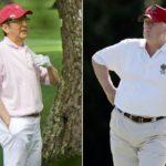 【あちゃ~】安倍総理&トランプのゴルフ、総理が凡ミスを連発し、何とも微妙な空気に!事前に補佐官を引き連れ練習したのに、いきなりチョロ!
