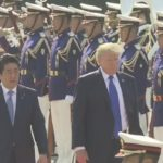 """トランプ大統領が離日し、韓国に移動!武器購入を迫るトランプに、マスコミは一転「ヨイショモード」に!昭恵夫人は娘や夫人に""""金満外交""""を展開!"""