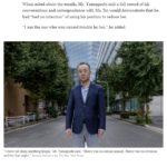 """【おお】米大手NYタイムズが「詩織さん事件」を特集!日本でほとんど報道されない""""実態""""を山口敬之氏の写真とともに詳しく紹介!"""