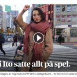 スウェーデンの大手メディア「ダーゲンス・ニュヘテル」が、伊藤詩織さんを「日本の#MeTooの先駆け」として紹介!ネット「NHKと雲泥の差」「日本メディアは強姦魔を野放し」