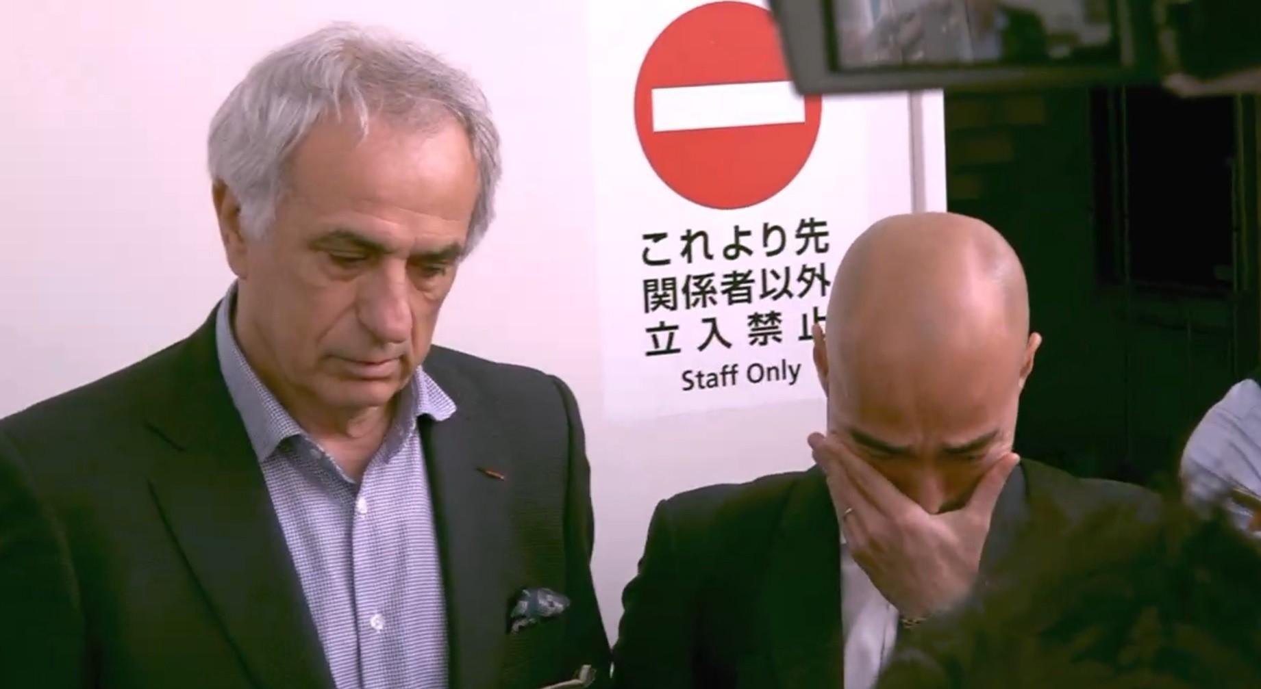 【闇深そう】サッカー日本代表解任のハリルホジッチ氏が来日!「私をゴミ箱に捨てたような状態」と語るハリル氏に、通訳の樋渡群氏が思わず涙!