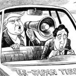 """【トランペット】トランプ氏が安倍総理を高く""""評価""""!「日本が戦闘機を多く購入することに感謝したい」「(安倍総理のお陰で)対日貿易赤字が減ってきた」"""
