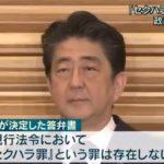 安倍政権、「セクハラ罪という罪はない」との閣議決定!→ネット「こんな閣議決定は世界で日本だけ」「現実が虚構新聞を超えた」
