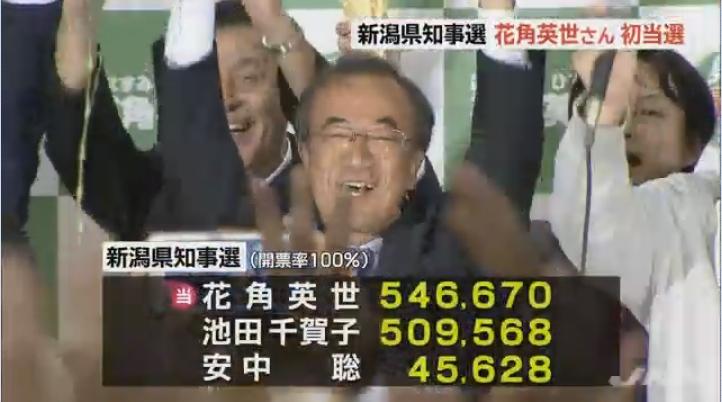 新潟知事選、花角陣営幹部が「池田氏の下半身ネタが文春から出る」とのデマを流布!地元新聞にも掲載され、公選法違反の可能性も!