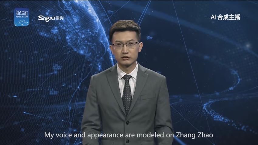 【驚き】中国・新華社通信がリアルすぎる「AIアナウンサー」を発表!休みを取らずに24時間365日ニュースを読み上げることが可能に!