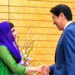 ノーベル平和賞マララさんが安倍総理と会談し、総理を称賛!「世界でリーダーシップを発揮してもらい、女性教育を推進していけると確信」