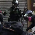 【香港デモ】警察が高校生に実弾を発砲、重体!射撃の瞬間を撮影した動画が拡散!香港警察の暴力行為がますますエスカレート!